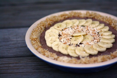 Banana Coconut Ice Cream Pie | by Tracey's Culinary Adventures
