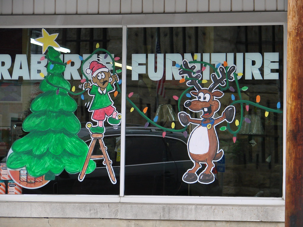 High Quality ... Crabtree Furniture 2009 Christmas Reindeer Painting 1of 2 | By ArtFX  Design Studios
