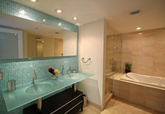South Beach Bathroom | by Ginger Monteleone