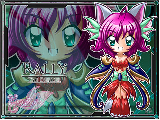 Rally Defiler Lime Wallpaper (3/5 Set) | by Zephos
