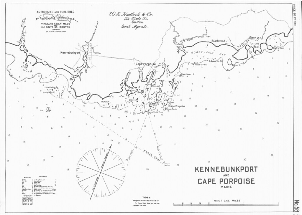 Kennebunkport And Cape Porpoise Maine