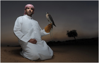 Omar and his Falcon | by strobist