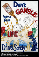 Don't Gamble With Your Life; Drive Safely | by AAAsafety