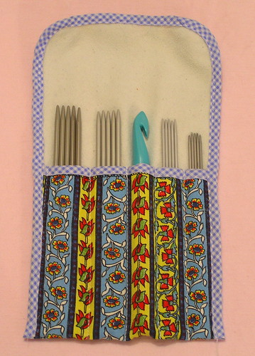 knitting needles' pouch | by vjesticica