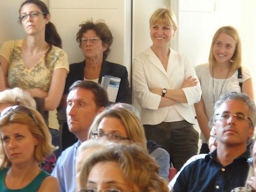 Alessia alla presentazione del libro di enrico letta mila for Alla maison di alessia