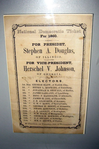 Washington DC - National Museum of American History: Stephen A. Douglas 1860 National Democratic Ticket | by wallyg