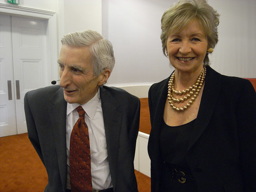 Martin Rees and Sue Lawley | by Steve Bowbrick
