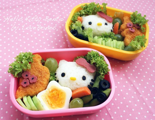Hello Kitty Onigiri | by Bento Mommy