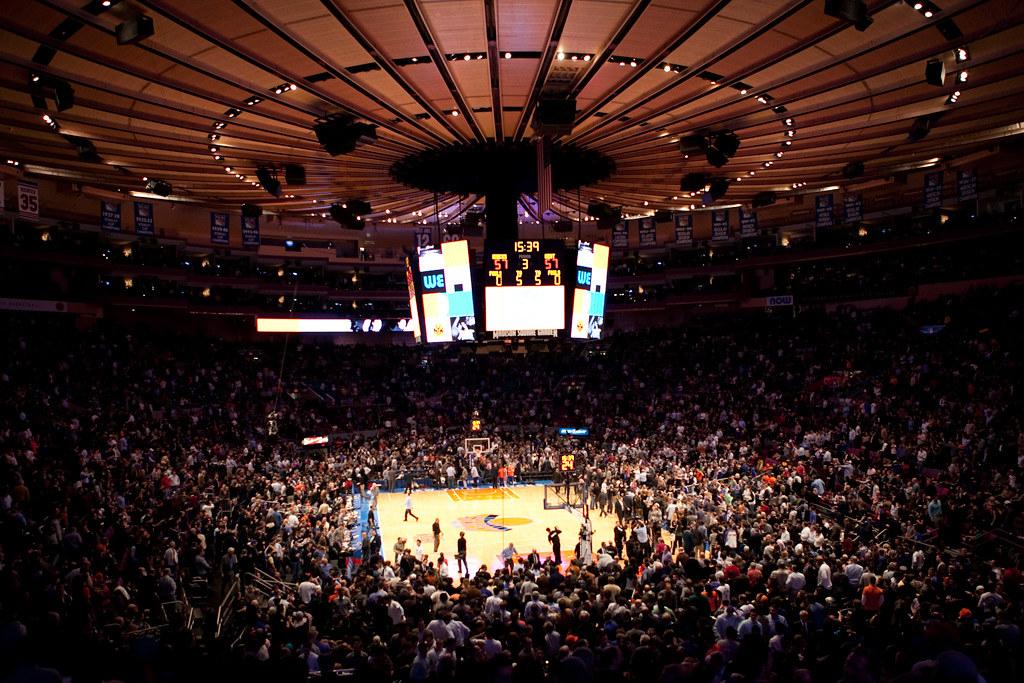 ... Madison Square Garden Knicks Vs Heats | By Smerfette