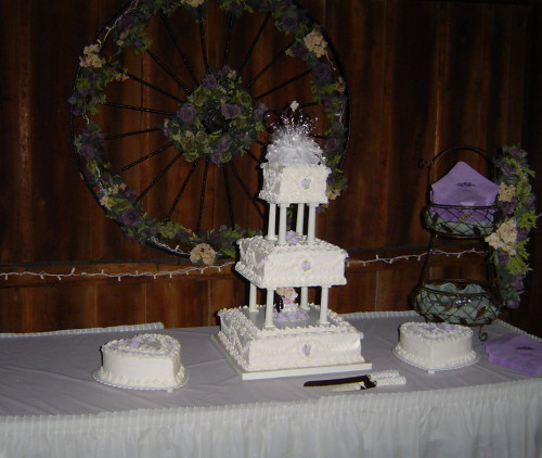 Tier White Wedding Cake Price
