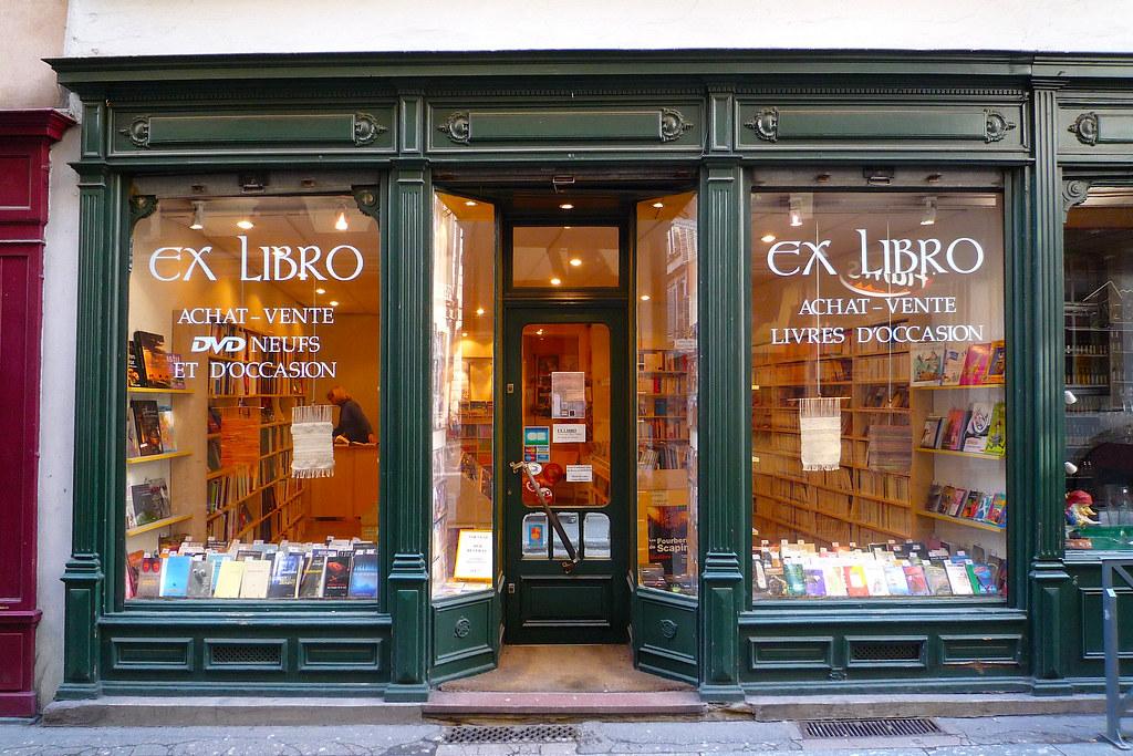 Extrêmement Strasbourg, librairie Ex-Librio, devanture ancienne en boi… | Flickr OF53