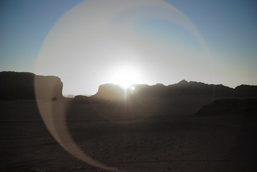 sunset at wadi rum | by ilker Uzuner