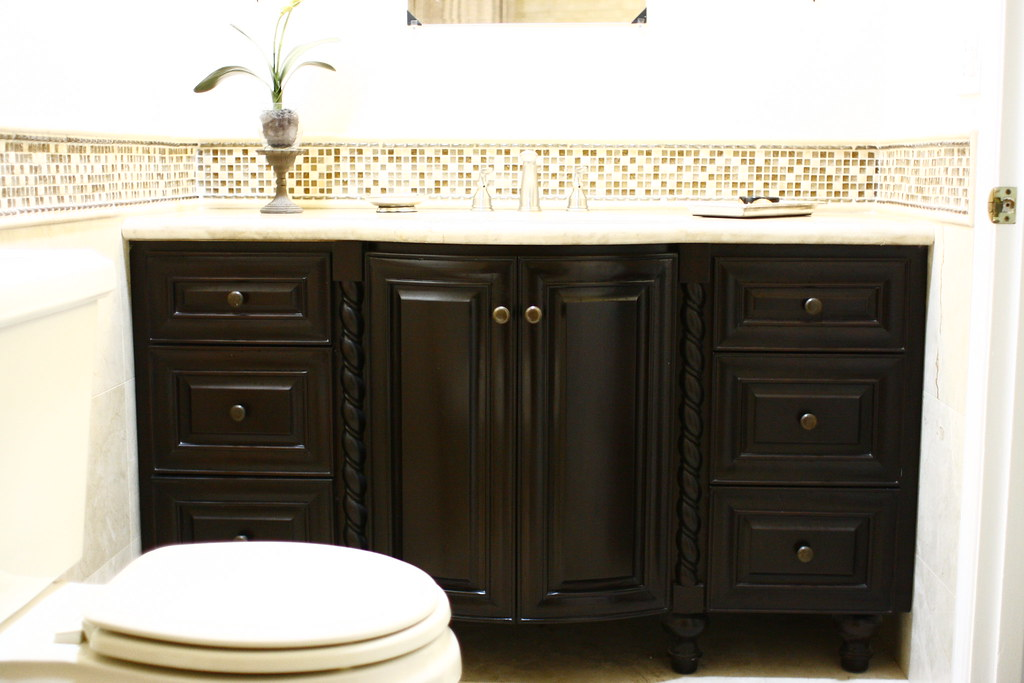 Custom Designed Bathroom Vanity
