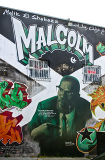 Malcolm X Malcolm X Mural Bayview Hunter 39 S Point