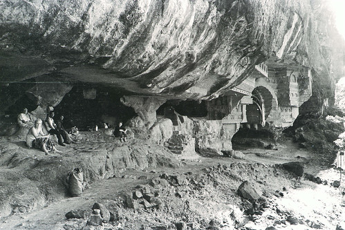 Bhaja caves 1978 | by Triratna Photos