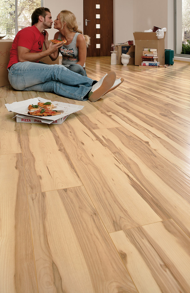 Bauclic Egger Laminate Flooring Maple Heartwood Mckayf Flickr
