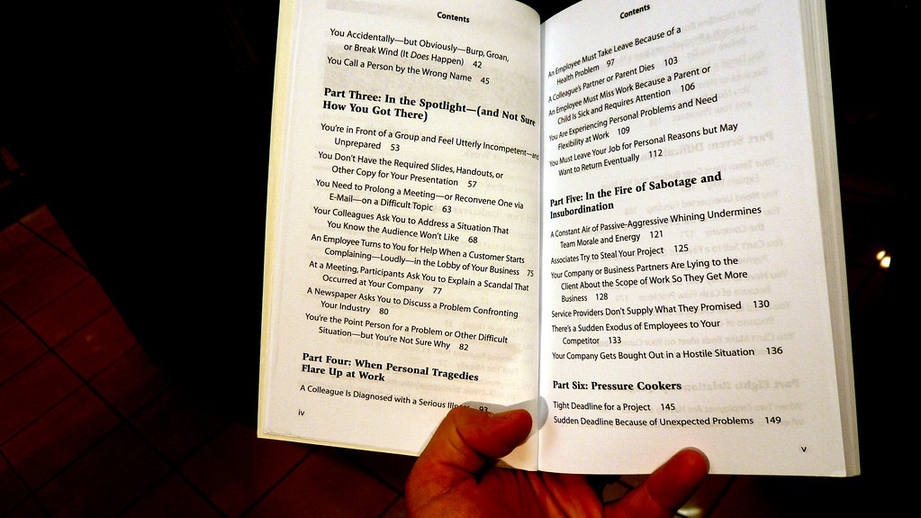 a table of contents 2 perfect phrases for dealing with difficult situations at work a