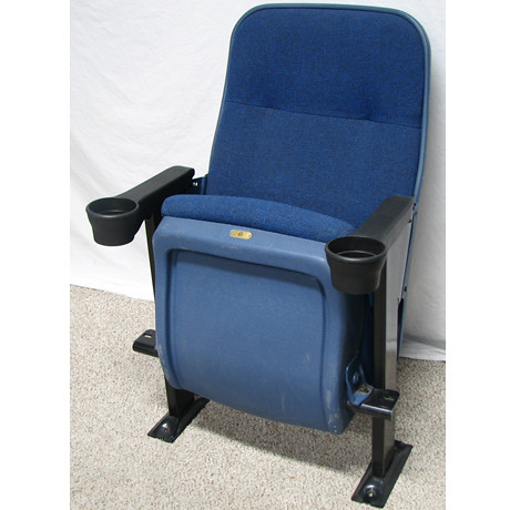 used irwin seating marquee blue auditorium theater seating chair flickr