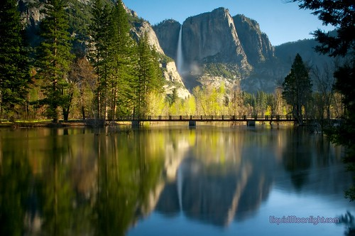 Yosemite Falls & Swinging Bridge - Yosemite National Park California | by Darvin Atkeson
