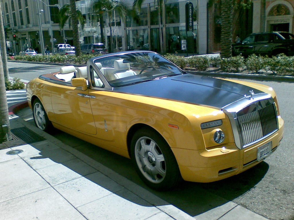 Rolls Royce Phantom Drophead Coupe Yellow Rolls Royce Phan Flickr