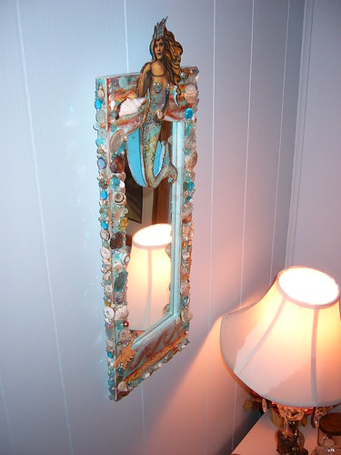 Mermaid Mirror | by rachelchristydesigns