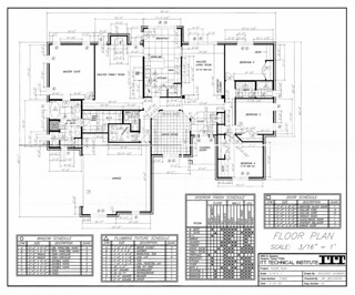 Residential Floor Plan | by AnchoretShowers