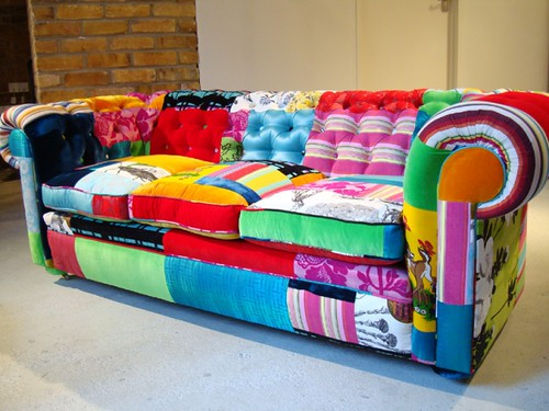 ... Sofa Patchwork | By Lena Bertoldo