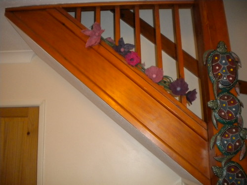 On banister | by For the Love of Felt