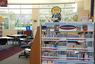 Graphic novels, teen territory | by plano.library