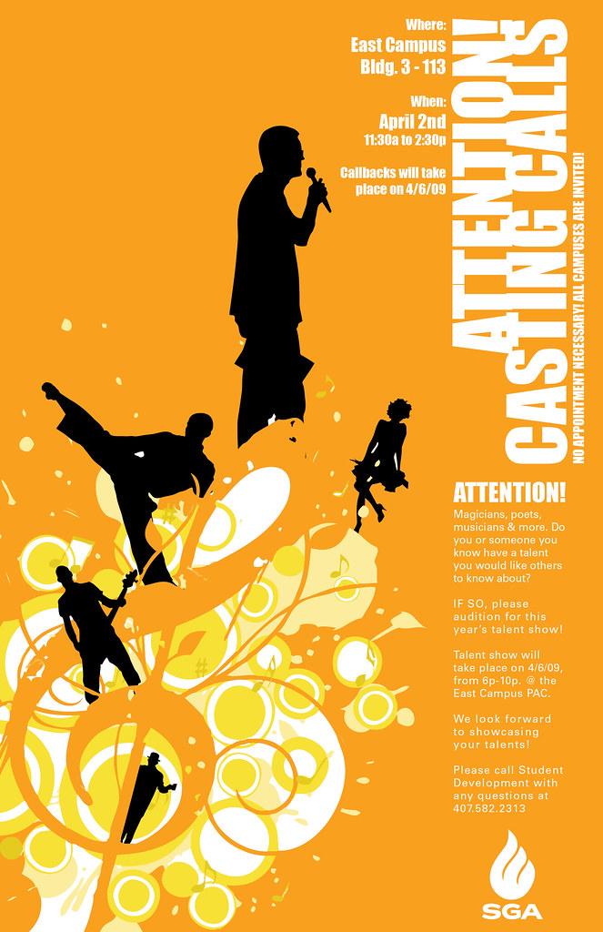 Casting Calls Poster