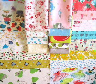 Vintage fabric love from Nanette | by Happy Zombie