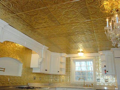 ... Ceiling Panel   Metallic Gold   By Danielmllr