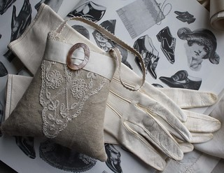 Pair of Vintage Leather Gloves | by Betty&Violet