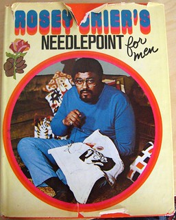 Rosey Grier's Needlepoint for Men | by liquidindian