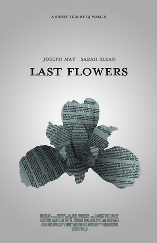 poster design: last flowers