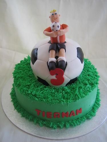 Soccer Birthday Cake Soccer Birthday Cake With Fondant