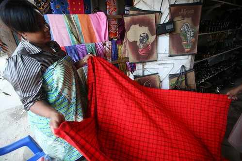 the Masai fabric I bought | by Farl