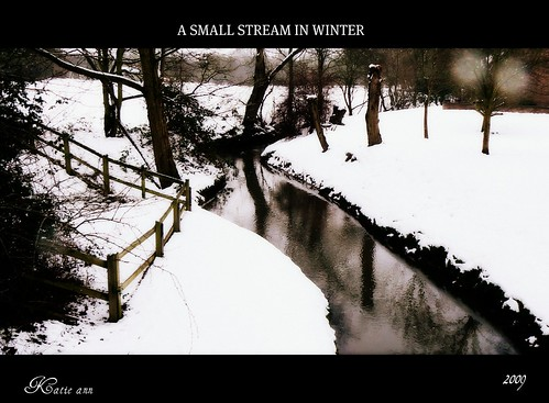 A SMALL STREAM | by ♥ Katie ann. Off more than on.