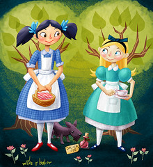 dorothy and alice | by mike r baker