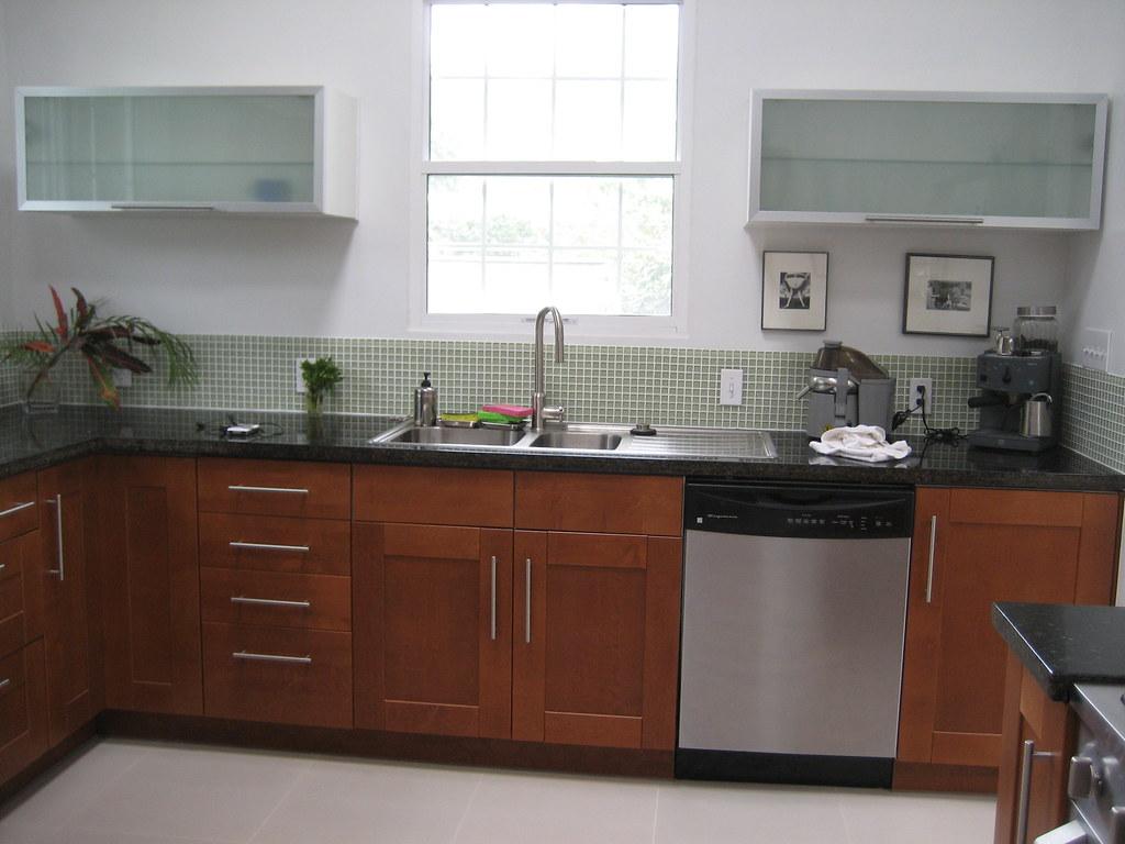 Medium Brown Kitchen Cabinets Kitchen Ikea Cabinets Adel Medium Brown Ikea Asko Single L Flickr
