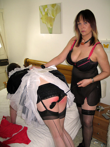 Punished Maid  Mistress Lucinda  Flickr-6058