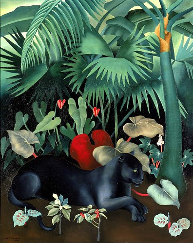 Alice Dinneen: Black Panther, 1934 | by americanartmuseum