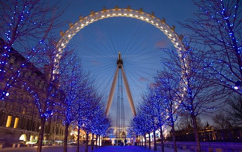 Man made london eye the london eye viewed from the for Trodel mobel