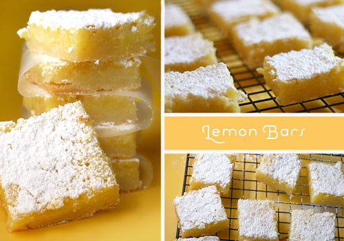 Lemon Bars | by Bakerella