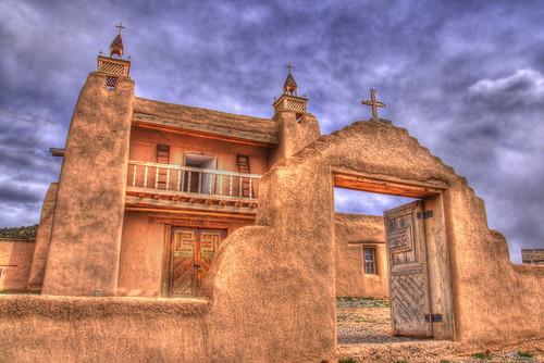 Old Town Santa Fe >> San José de Gracia Church, Las Trampas, New Mexico | Flickr