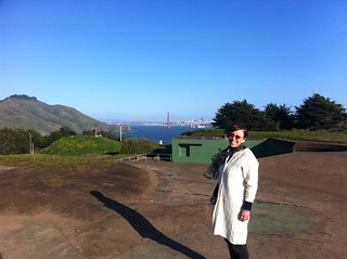 Mom in Marin headlands | by neb