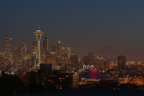 019:365 :: seattle past sunset | by Kimberly McK