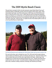 Myrtle Beach Classic 2009 Write-Up | by erikrasmussen