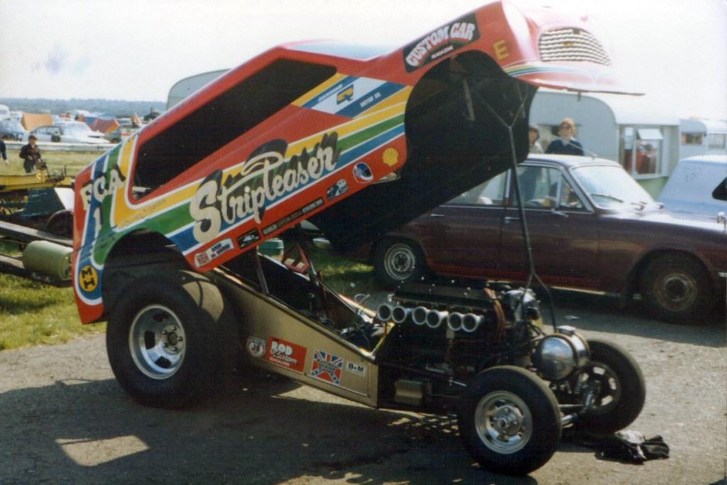stripteaser - Mini Van drag racing funny car | Stripteaser i… | Flickr
