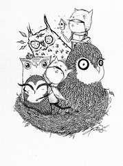 Owl Gathering | by eight bit™